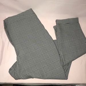 TALL checked trouser